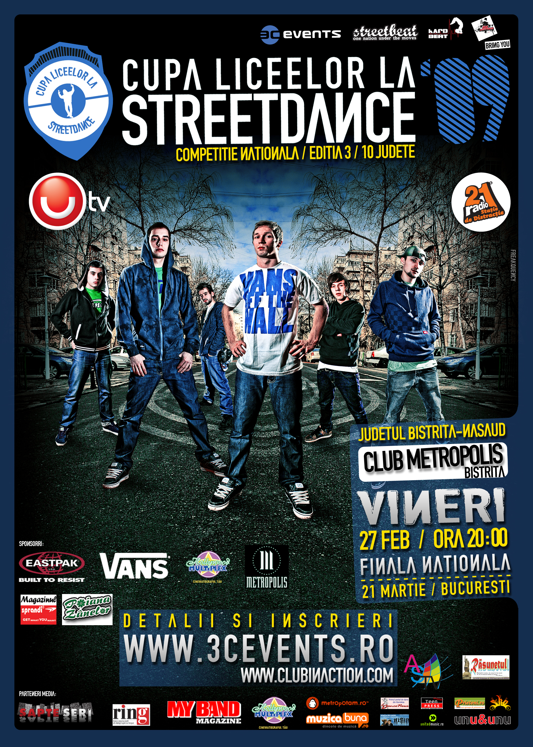 Cupa Liceelor la Streetdance, ediţia I 2009