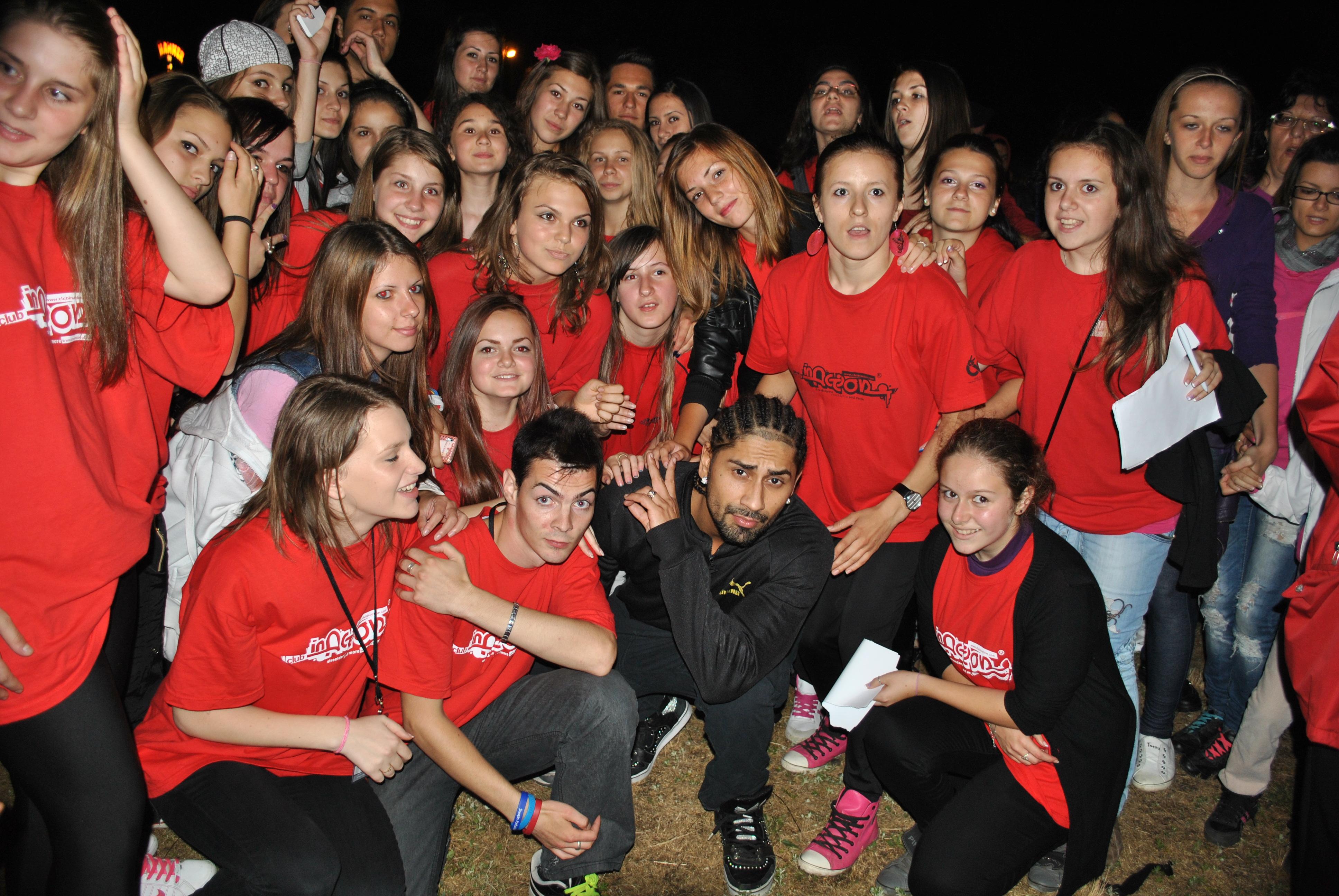 In Action alături de Connect-R în concert la Bistriţa