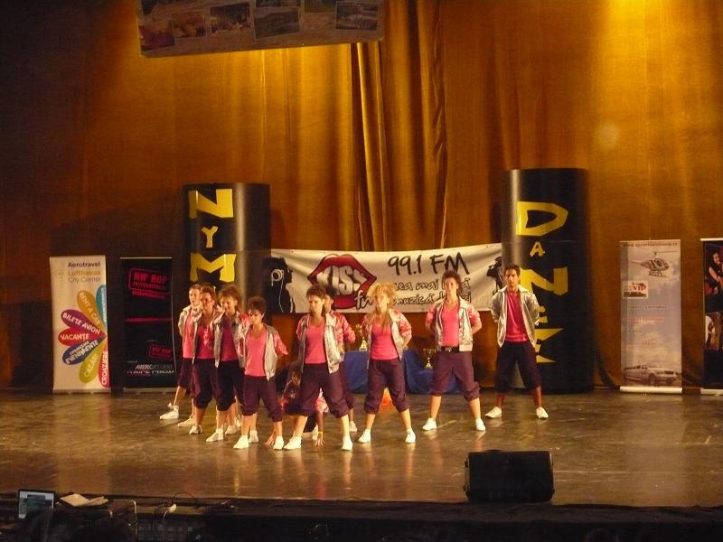 "Locul V la concursul naţional de dans ""Nymphea Dance"", 2010"