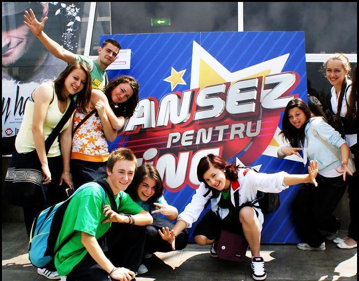 """Trupa Reborn (ex.InAction) la """"Dansez pentru tine"""" în anul 2009"""