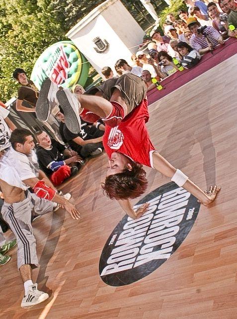 Best Bgirl Romania la Romrock 2008