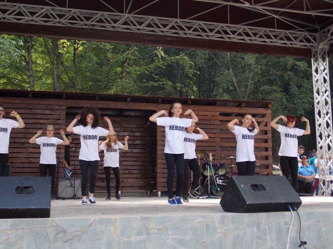 Inaugurarea Pădurii  Schulerwald, Bistriţa