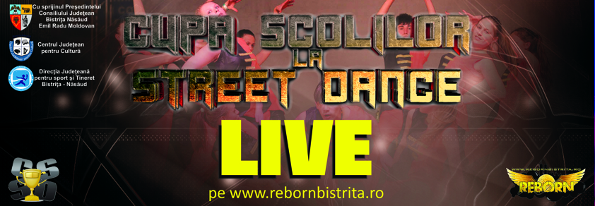LIVE Cupa Școlilor la Street Dance