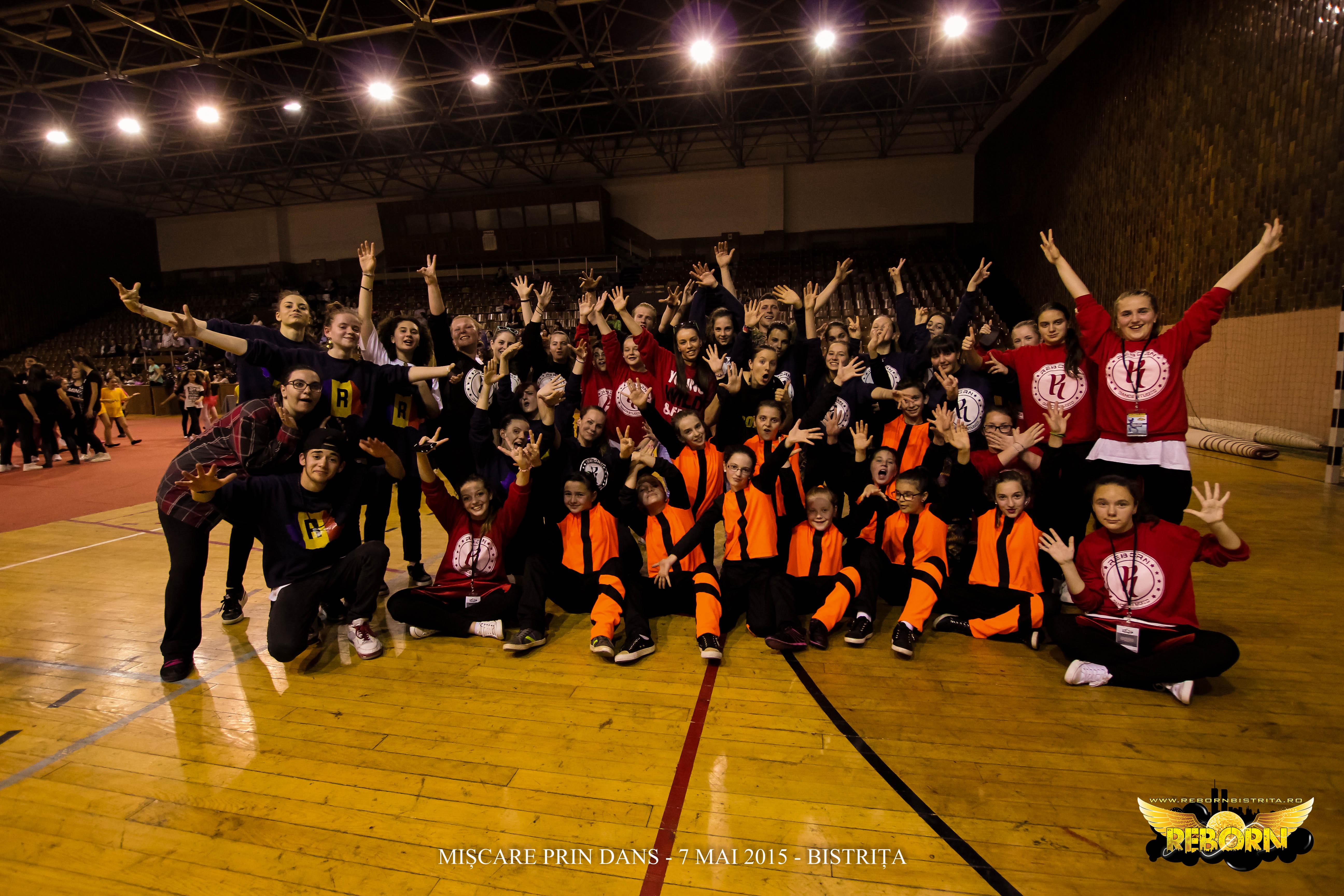 Concursul Mișcare prin Dans, Bistrița 2015