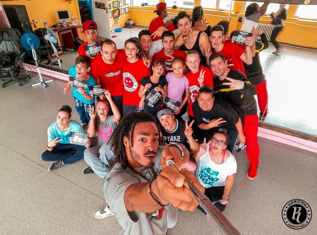 Alex The Cage, Belgia – Hip Hop Workshop @ REBORN