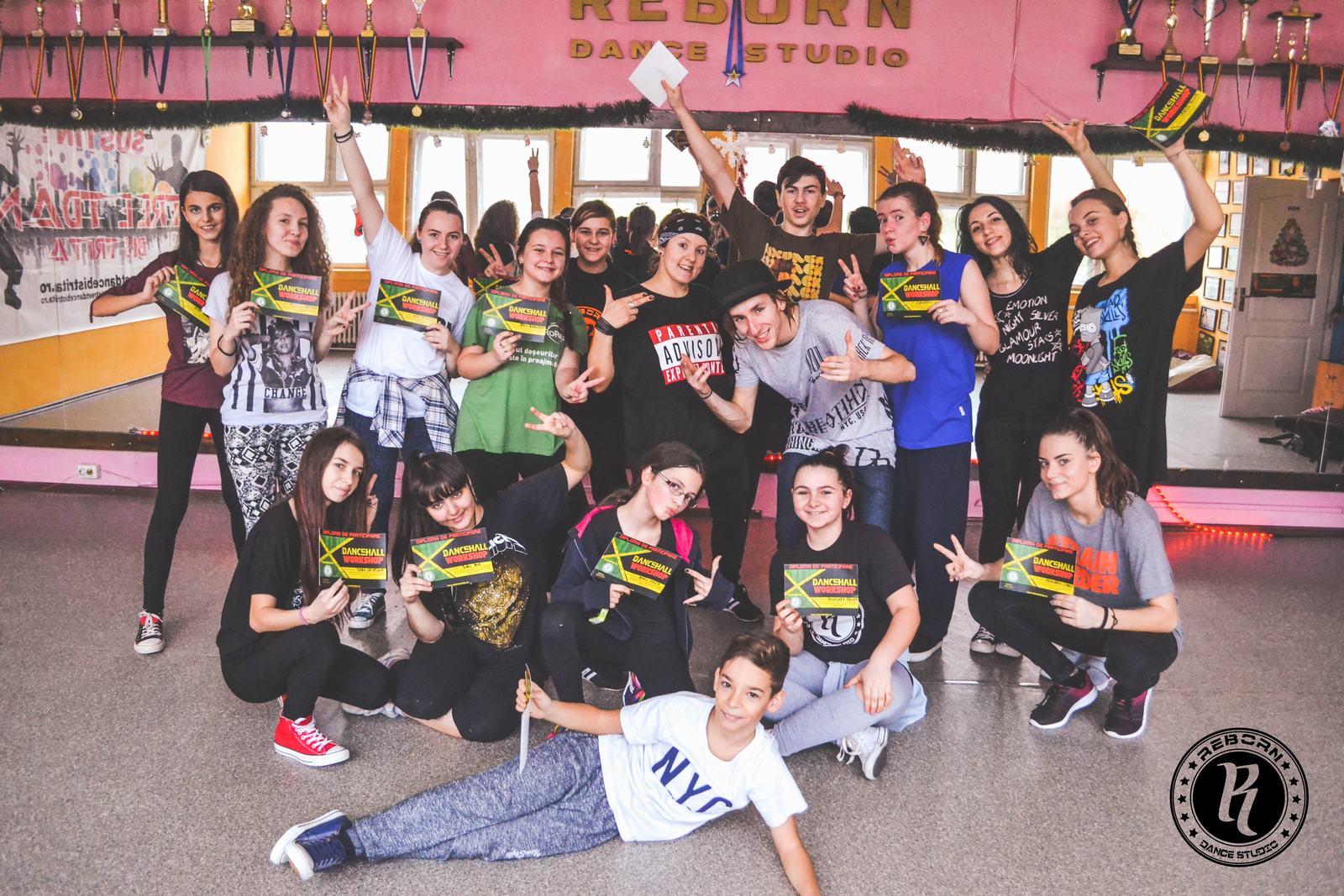 Dancehall Workshop cu Andrei Pandy