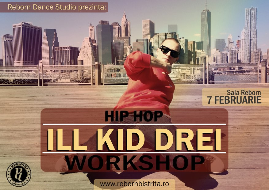 ILL KID DREI Hip Hop Workshop