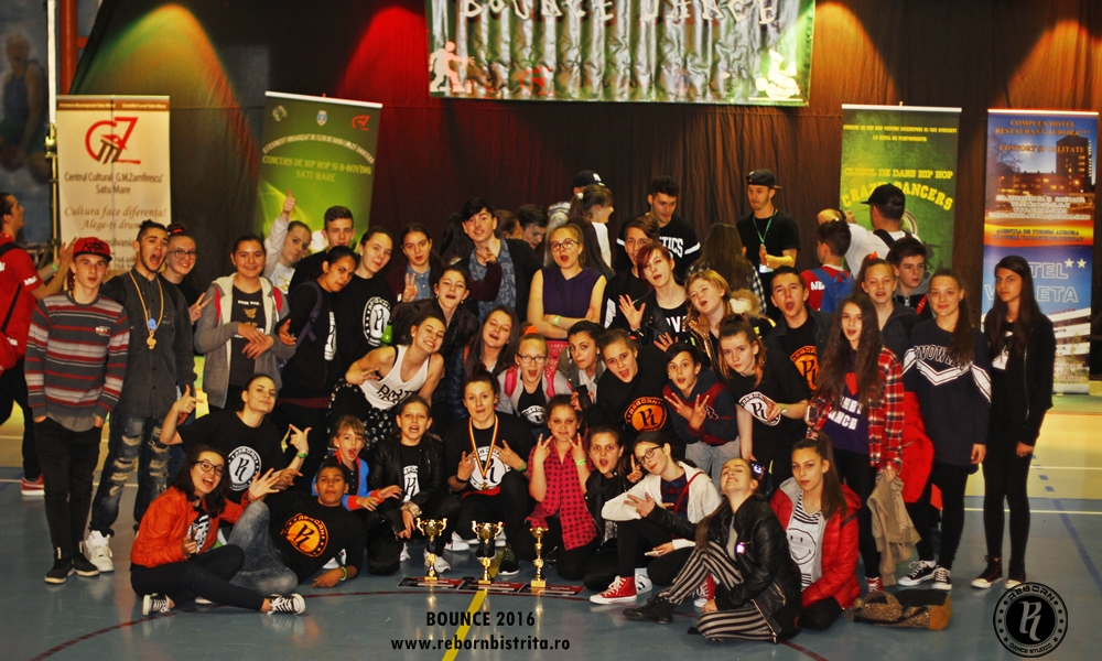 Concursul International de Hip Hop – BOUNCE, Satu Mare
